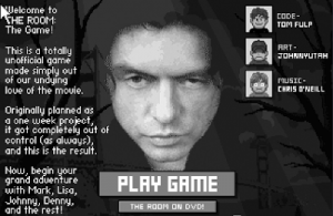 """THANK YOU! THANK YOU! THANK YOU! The Fantastically Horrible Movie """"The Room"""" Is Now Available As A Flash Game"""