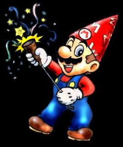 HAPPY 25TH B-DAY SUPER MARIOS BROS. Thanks For Making Me So Awesome For the Last Quarter Century.