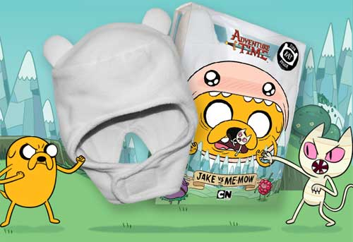 dvd news new adventure time release is bundled with finn hat