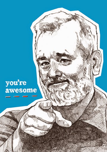 bill murray youre awesome journal - Bill Murray Coloring Book