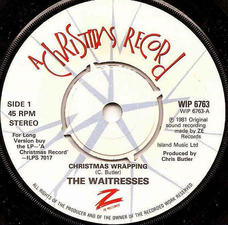 MUSIC VIDEO MONDAY: Christmas Wrapping- The Waitresses | Forces of ...
