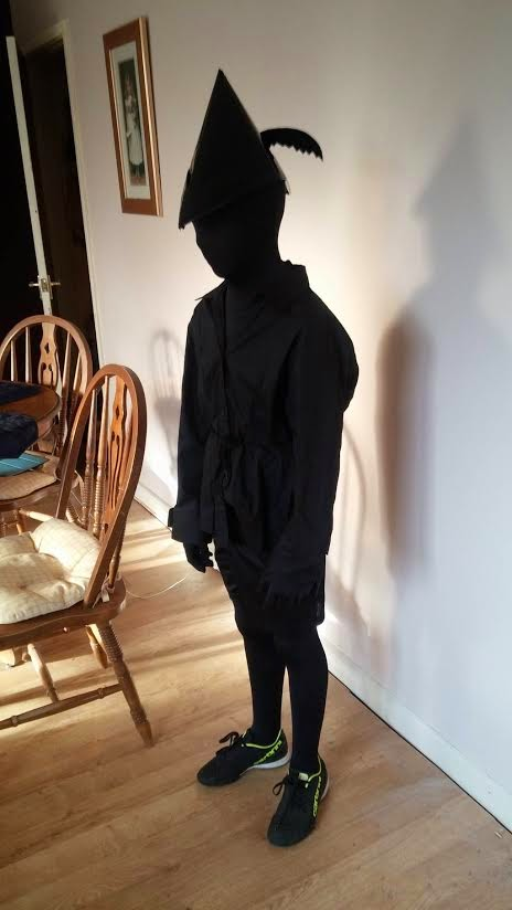 As well as being into reading this particular little boy is very creative. He wanted to be Peter Panu0027s shadow because none of the other kids in his class ... & Kids Costumes: From Paddington Bear tou2026Christian Grey? | Forces of Geek