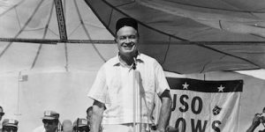 Win BOB HOPE: ENTERTAINING THE TROOPS on DVD!