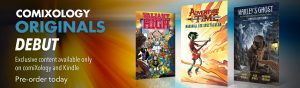ComiXology Originals Unveiled with Debut of Exclusive Content Line