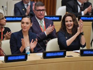 Wonder Woman Named The United Nations' Honorary Ambassador For The Empowerment of Women and Girls