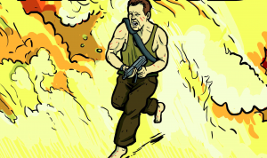 Yippee Ki Yay!  A Look at the 'Die Hard: The Authorized Coloring and Activity Book'