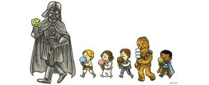 Jeffrey Brown Announces 'Darth Vader and Family Coloring Book'