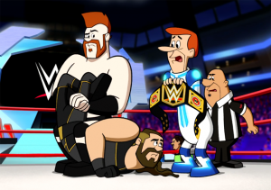 WWE Superstars Head to the Future in 'Jetsons & WWE: Robo-Wrestlemania!' on DVD and Digital HD March 14th!