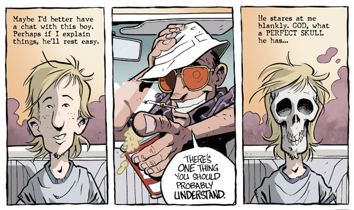 Image result for fear and loathing graphic novel