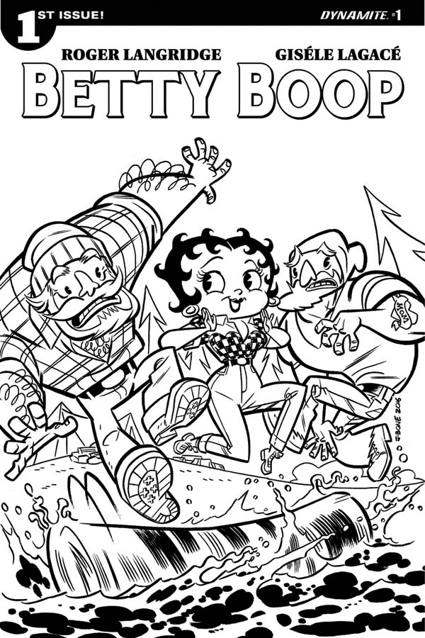 Betty Boop Returns To Comics From Dynamite Forces of Geek
