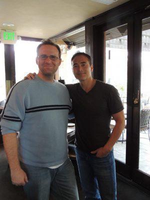 david with Mark Dacascos
