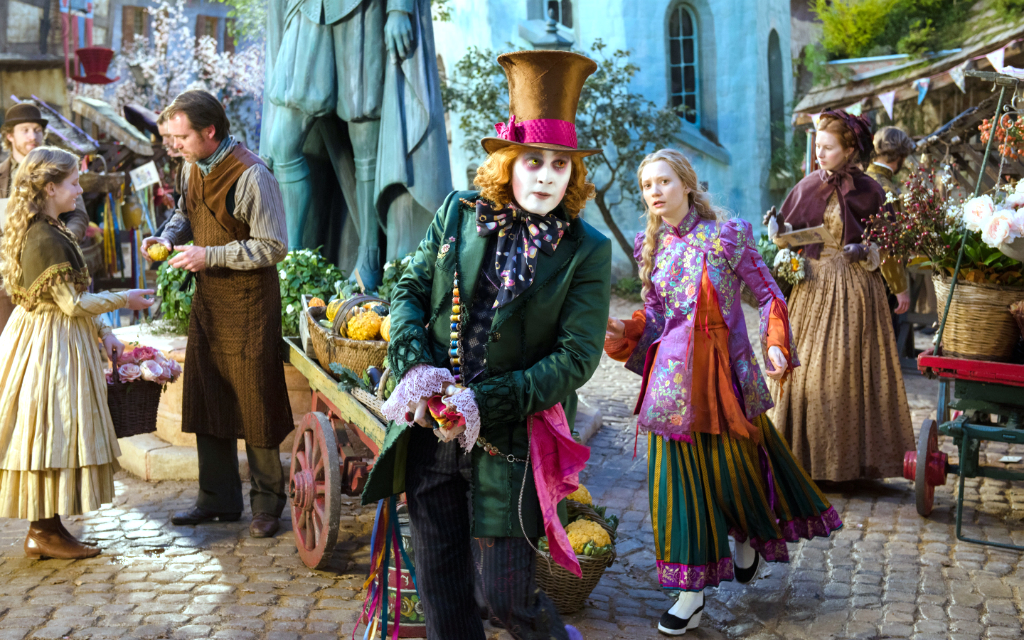 Win Disney S Alice Through The Looking Glass On Digital